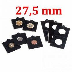 Etui numismatique noir Matrix pour monnaies jusqu'à 27,5 mm.