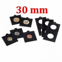 Etui numismatique noir Matrix pour monnaies jusqu'à 30 mm.