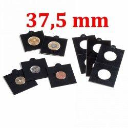 Etui numismatique noir Matrix pour monnaies jusqu'à 37,5 mm.