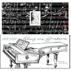 Bloc souvenir Beethoven neuf** SUP.