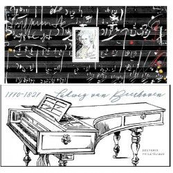 Bloc souvenir N° 170 Beethoven neuf** SUP.
