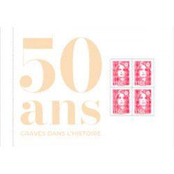 """Livret 50 ans de l'Imprimerie """"Gravés dans l'histoire"""" édition limitée."""