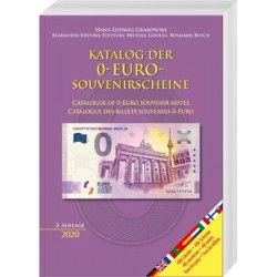 Catalogue de cotation billets Euro souvenir 2020.