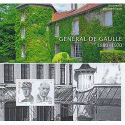 Bloc souvenir Charles de Gaulle 1890-1970 neuf** SUP.