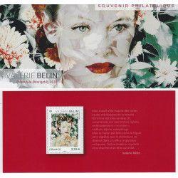 """Bloc souvenir N° 174 Plus beau timbre de l'année """"Belin"""" neuf** SUP."""