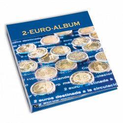 Classeur Numis pour pièces de 2 euros commémoratives.