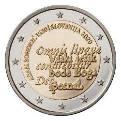 2 euros commémorative Slovénie 2020 - Adam Bohoric.