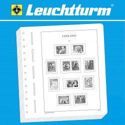 Feuilles pré imprimées Leuchtturm Vatican 1959-1963.