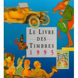 Livre des timbres de France de l'année 1995.