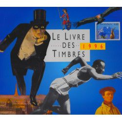 Livre des timbres de France de l'année 1996.