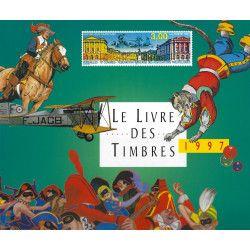 Livre des timbres de France de l'année 1997.