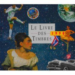 Livre des timbres de France de l'année 1998.