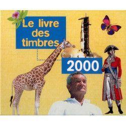 Livre des timbres de France de l'année 2000.