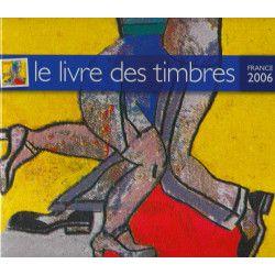 Livre des timbres de France de l'année 2006.