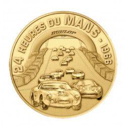 """Médaille """"Circuit 24 heures du Mans - 1966"""" - Monnaie de Paris."""