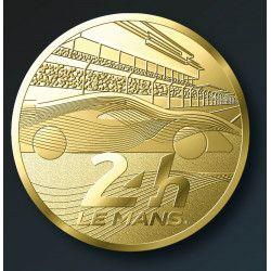 """Médaille """"Circuit 24 heures du Mans - Hypercar"""" 2021 - Monnaie de Paris."""