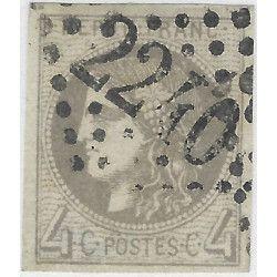 Bordeaux timbre de France N° 41B oblitéré SUP.