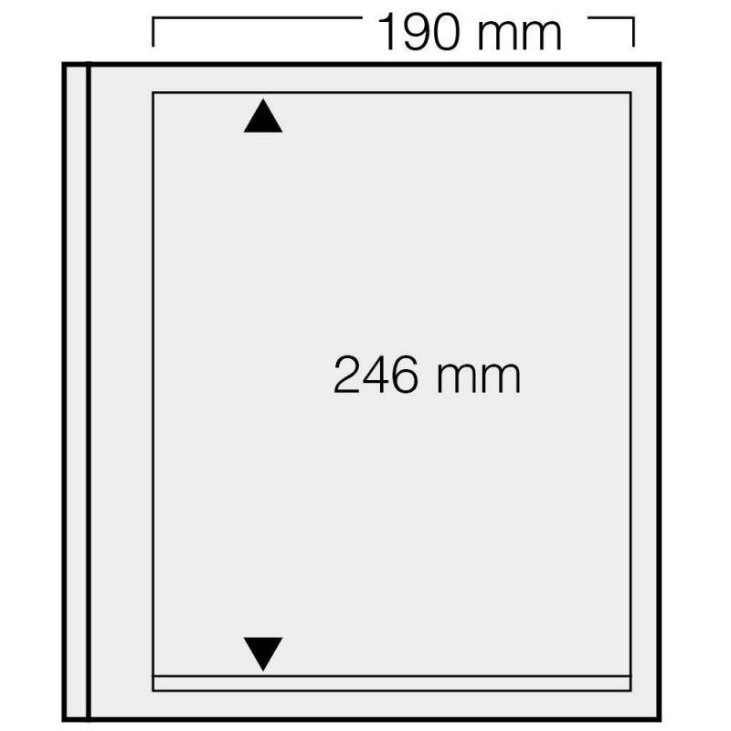 Feuilles Safe spécial-dual à 1 bande pour blocs, mini-feuilles.