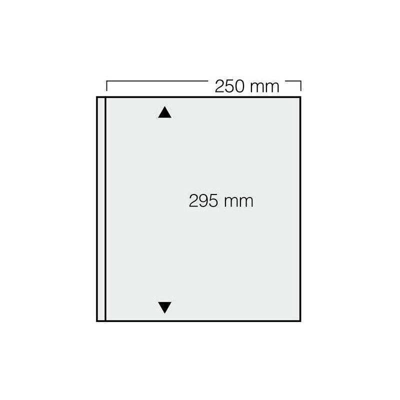 Feuilles Garant Safe à 1 bande pour blocs, mini-feuilles de timbres.
