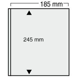 Feuilles Variant noires à 1 bande pour blocs, enveloppes.