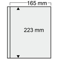 Feuilles transparentes Compact Safe à 1 poche pour documents format A5.