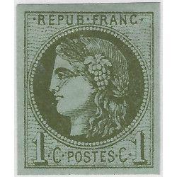 Bordeaux timbre de France N° 39A neuf* SUP.
