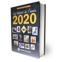 Catalogue Mondial des Nouveautés de timbres 2020 en couleurs.
