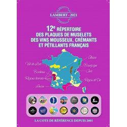Répertoire Lambert des capsules de vins mousseux édition 2021.