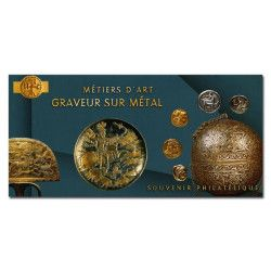 Bloc souvenir N° 172 Métiers d'art - Graveur sur métal neuf** SUP.