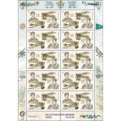 "Feuillet de 10 timbres Poste aérienne ""Coiffard"" neuf** SUP."