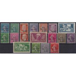 Caisse d'Amortissement timbres de France 1927-1931 complet neuf** TB /  SUP.