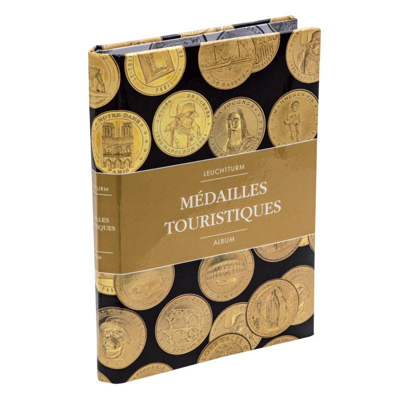 Album de poche pour 36 médailles touristiques.