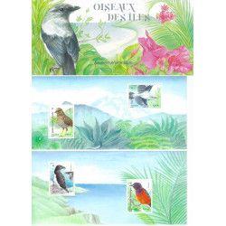 Bloc souvenir N° 175A-B Oiseaux des iles neuf** SUP.