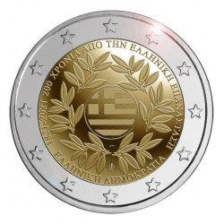 2 euro commémorative Grèce 2021 - Révolution.