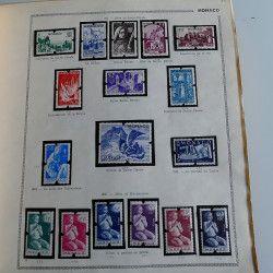 Collection timbres de Monaco 1885-1967 neufs en album Thiaude, TB / SUP.