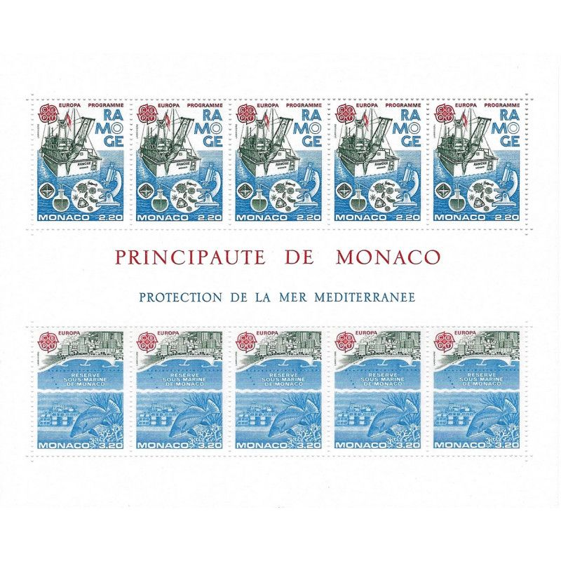 Monaco bloc-feuillet N°34 neuf** SUP.
