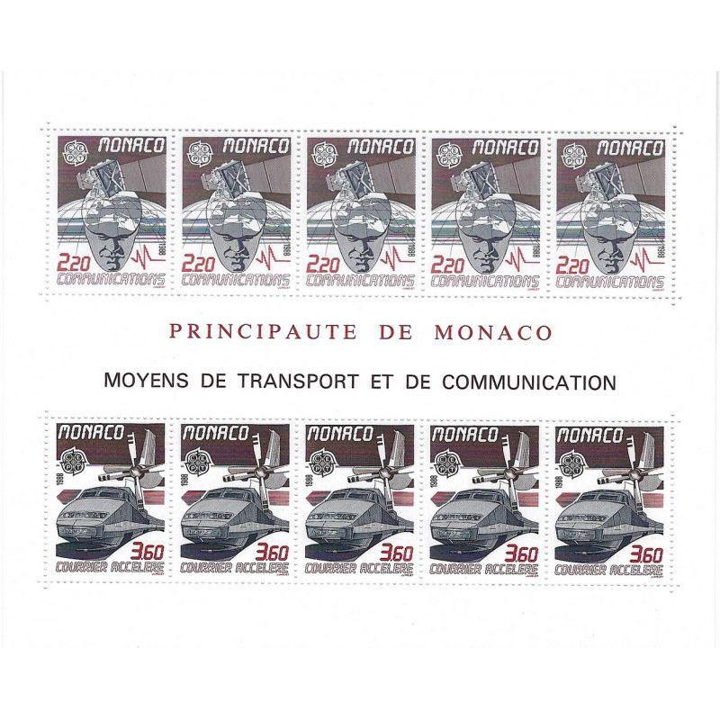 Monaco bloc-feuillet N°41 neuf** SUP.