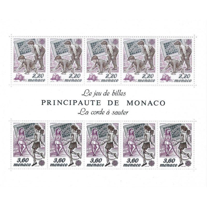 Monaco bloc-feuillet N°46 neuf** SUP.