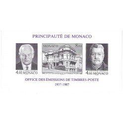 Monaco bloc-feuillet N°39a non dentelé neuf** SUP.