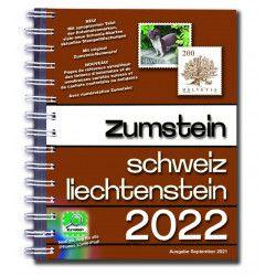 Catalogue Zumstein timbres de Suisse-Liechtenstein 2022, version spirale.