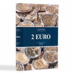 Album illustré spécial monnaies 2 euros...