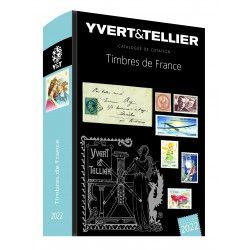 Catalogue de cotation timbres de France 2022 Yvert et Tellier.