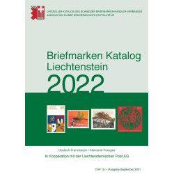 SBK Catalogue de cotation timbres Liechtenstein 2022.