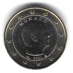 1 euro commémorative Monaco 2021 - Albert II.