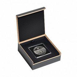 Écrin numismatique Luxor pour 1 monnaie sous capsule QUADRUM.