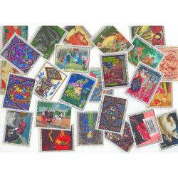 France Musée imaginaire 25 timbres Tableaux neuf** tous différents.