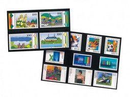 Cartes de classement à bandes pour collectionner les timbres-poste.