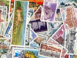Pochette de timbres de France tous différents pour votre collection.