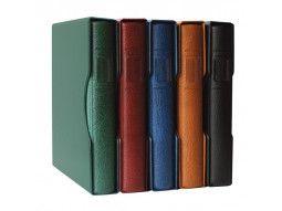 Albums, reliures Lindner, Leuchtturm, Yvert, Safe, Kabe, Moc pour timbres de collection.