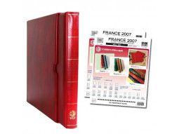 Albums philatéliques Supra Yvert et Tellier pour le classement de timbres de France.
